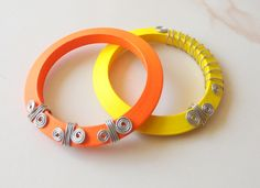 Perfect for the Summer Bangles, Bracelets, Our Love, Jewellery, Silk, Chic, Summer, Accessories, Products