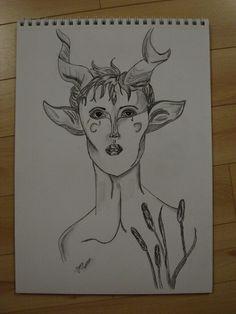 Faun drawn by Jonsu Ziegler