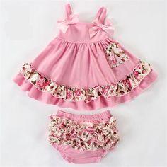 Ruffles Baby girl 2 piece set