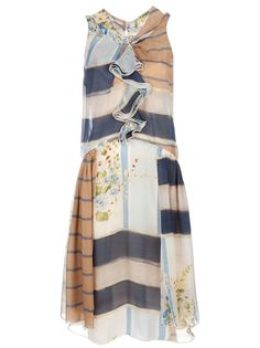 Antonio Marras Panelled Dress