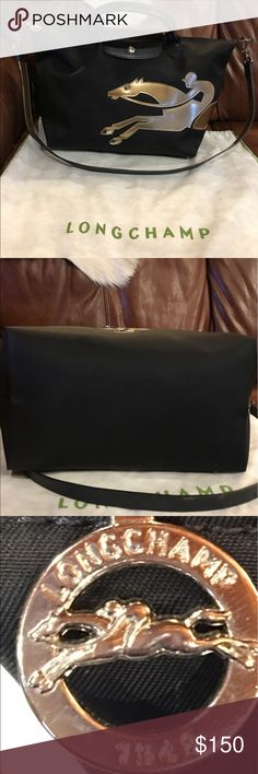 Longchamp year of the horse purse Up for sale is a long champ year of the horse purse , in great shape. It's a large size purse . Love the purse , it's just a little big for my liking . Longchamp Bags