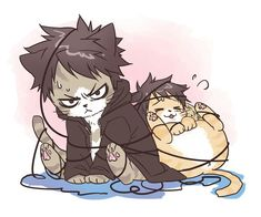 Law and lufffyyyy awww! At first I thought it was kuroo and Kenma but I'm like where's his bed hair and when was kenma this happy XD One Piece 2, One Piece Funny, One Piece Comic, One Piece Fanart, One Piece Images, One Piece Anime, Pusheen Cat, Trafalgar Law, Fandom