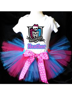 Monster High Tutu Birthday