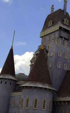 Beast's Castle in Disneyworld