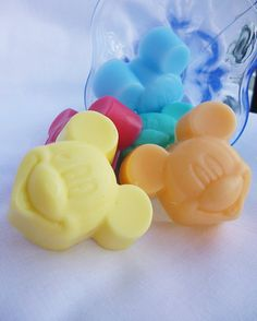 MICKEY MOUSE SOAPS Baby shower soaps Soap by StarSoapsbyIvana