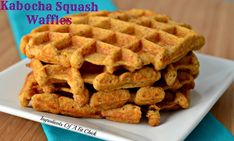 Kabocha Squash Waffles Serves: 1 Happy Sunday! I hope you are having a fun and relaxing weekend!! Last weekend I was craving waffles and this pancake recipe! So, with just a minor tweak I was able ...
