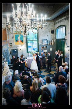 Unique Wedding Venues: Distillery District Toronto- hrmphotography at balzacs Wedding Venues Toronto, Unique Wedding Venues, Wedding Blog, Diy Wedding, Wedding Photos, Wedding Ideas, Small Intimate Wedding, Intimate Weddings, Real Weddings