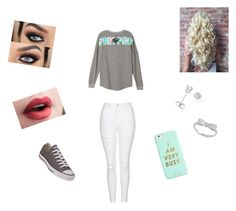 """""""Day out"""" by mckaylahooks on Polyvore featuring Topshop, Converse, Amanda Rose Collection and ban.do"""