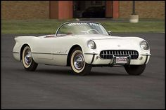 1955 Chevrolet Corvette Roadster The Second 1955 Corvette Built presented as lot S198 at Kissimmee, FL 2011 - image1
