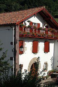 Maison basque de Basse-Navarre