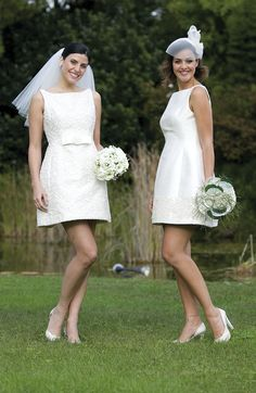 Abiti corti da sposa! www.cinziaferri.com