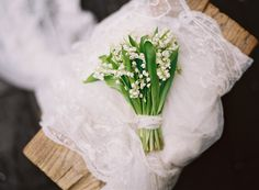 lily of the valley bouquet, styling and design by Joy Thigpen, image by Tec Petaja