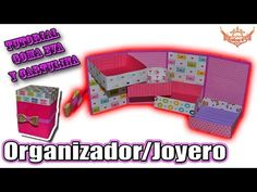 ♥ Tutorial: Organizador/Joyero en 3D Goma Eva (Foamy) ♥ - YouTube
