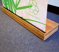 "The Panda Banner Stand from <a target=""_self"" href=""http://www.gogreendisplays.com"">Go Green Displays</a> is a retractable banner stand fabricated with 90 percent plantation-grown..."