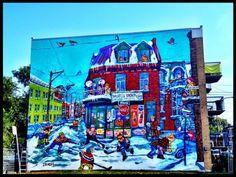 street art- Montreal