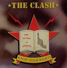 """El 23 de abril de 1982 es publicado know Your Rights """" Conozca sus derechos """"es una canción de The Clash . Fue lanzado como el primer sencillo del álbum, Combat Rock , tres semanas antes de la salida del disco.  La canción comienza con las palabras """" Este es un anuncio de servicio público ... con la guitarra! """" La estructura de la canción gira en torno a los derechos que poseen los pobres y marginados, en la que el representante de la canción, presumiblemente un funcionario villano (cuya…"""