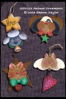 Animal Ornaments ePacket DOWNLOAD