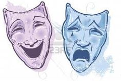 greek masks happy and sad - Google Search