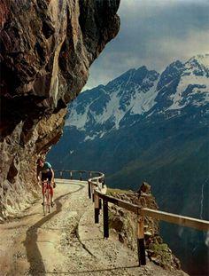 passo gavia Valtellina Italy