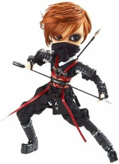 """Pullip Dolls Taeyang Ninja Arashi 14"""" Fashion Doll by Pullip Dolls. $109.99. Large Dolls include Eye Mechanism, Over Sized Head, Very Fashionable. Pullip, DAL, Byul, Taeyang, Isul. Big Head, Japanese, Asian, Anime, Manga, Georgeous, Gothic, Fashion Doll, Blythe, Doll, Collectible. Features window box packing. Japanese Gothic, Angelic Pretty, h.naoto, Black Peace Now, Innocentworld Alice in the Pirate, STEAMPUNK. From the Manufacturer Limited edition toy doll i..."""