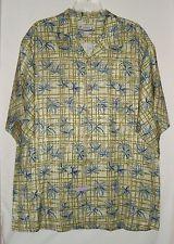 KAHALA Hawaiian Islands Silk Aloha Short Sleeve Mens Camp Shirt Size XL  in Clothing, Shoes & Accessories, Men's Clothing, Casual Shirts | eBay