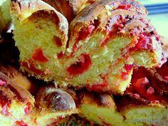 Brioche aux pralines roses, on la trouve aussi en Auvergne