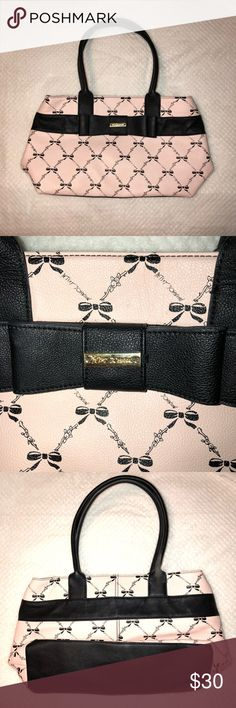 Betsey Johnson Purse Guc Pen mark in the lining Betsey Johnson Bags Shoulder Bags