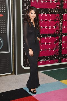 Selena Gomez in Calvin Klein at the 2015 MTV Video Music Awards (Photo: Jason Merritt/Getty Images)