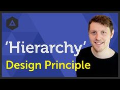 'Hierarchy' Design principle of Graphic Design Ep10/45 [Beginners guide to Graphic Design] - YouTube