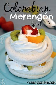 Sweet y Salado: Colombian Merengón (Pavlova)