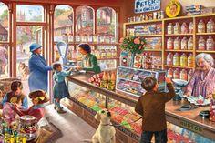 A special treat - legpuzzel - 1000 stukjes - Gibsons #snoep #winkel #kinderen