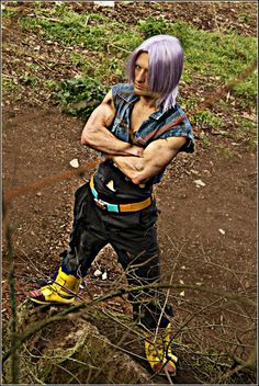 Trunks from Dragon Ball Z.  View more EPIC cosplay at http://pinterest.com/SuburbanFandom/cosplay/