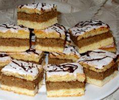 Emeletes diós recept | Mindmegette.hu Quotes French, Poppy Cake, Oreo Cupcakes, Hungarian Recipes, Hungarian Food, Nutella, Tiramisu, Fondant, Cheesecake