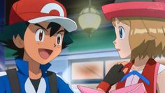 Pokemon XY&Z episode 16 Sooooo cute! Pokemon Ash And Serena, Pokemon X And Y, Ash Pokemon, Pokemon People, Pokemon Ships, Cool Pokemon, Satoshi Pokemon, We Make Up, Pokemon Pictures