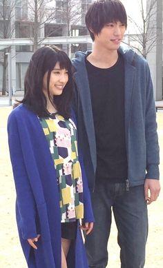 """Sota Fukusihi x Tao Tsuchiya,    J soujo manga LA drama """"omukae death"""", starts from Apr/2016"""