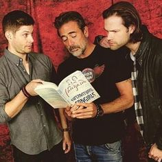 """Jensen is like"""" srsly """"while  jared is like"""" shhh...this is interesting"""""""