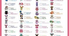 "Beanie Boo Checklist - Instant Download - 8"" x 10.5"" | Birthdays, Hats and Taps"
