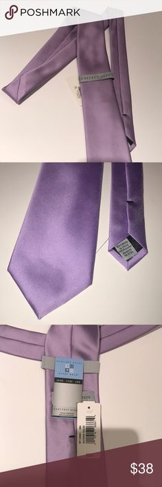 Men's Purple Tie New with tags. Never been worn. Light shade of purple. Geoffrey Beene Accessories Ties