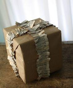 paper ruffled ribbon