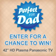 "I am in the draw, Enter for your Chance to Win a 42"" Plasma TV for Dad! from London Drugs."