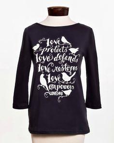 """Love146 """"Love Empowers"""" Women's Shirt - XS"""