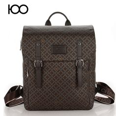 starbags 2017 New Brand pu leather Bag Casual College Men and women School laptop Backpack
