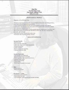 Accountant Clerk Resume, Templates And Cover Letters Plus An Indeed Job  Search Engine To Help You In Your Job Search, 3 Different Accounting Clerk  Resume ...