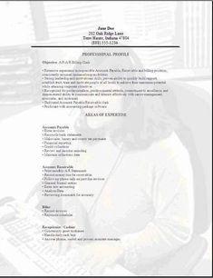 accounts payable clerk resume accounting resume sles