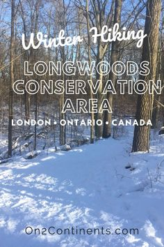 Wondering where to go for a walk in London, ON? Try Longwoods Conservation Area • Winter Hiking near London, ON. #ldnont #ldngem #londonON #hiking #familyhiking #swontario #ontario #canada #outdoors #familytrip #on2continents Walks In London, Winter Hiking, Where To Go, Conservation, Family Travel, Ontario, Paths, Travel Inspiration, Canada