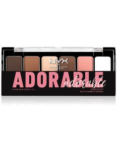 Nyx Professional Makeup The Adorable Eye Shadow Palette