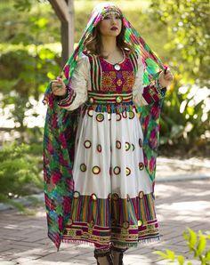 Zikiria Afghan Dress
