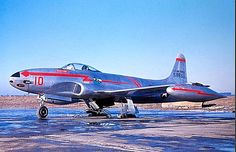 Lockheed F-80B Shooting Star of 22nd Fighter Squadron.