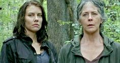 'Walking Dead' Season 6, Episode 13 Preview: Is This the End for Maggie & Carol? -- Maggie and Carol are ambushed by a group of Saviors, who try to make a deal with Rick in a new preview for next week's episode of 'The Walking Dead'. -- http://movieweb.com/walking-dead-season-6-episode-13-preview/