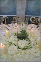 Wedding, Flowers, Reception, Centerpiece, White #EasyNip